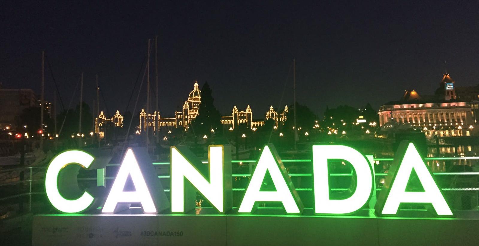 Der Abschied von Österreich und die Ankunft in Kanada
